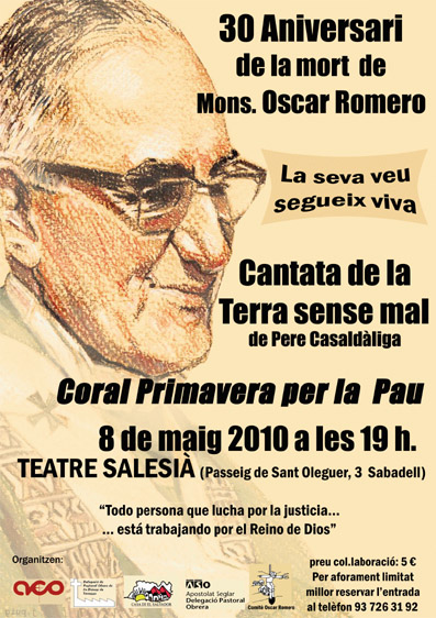 30 anys de l'assassinat de Monsenyor Romero